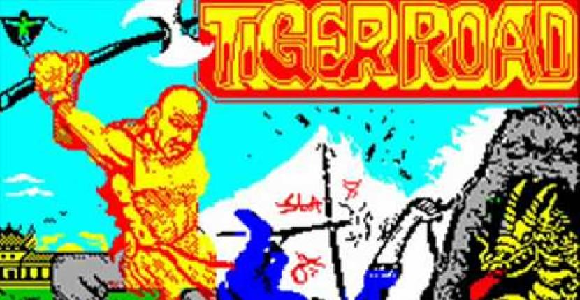 Tiger Road de ZX Spectrum por Probe Software