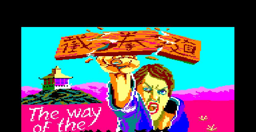 The way of the Exploding Fist - Amstrad CPC de Melbourne House (1985)