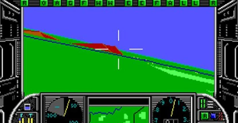 Gunship | Simulador : PC MS-DOS | MicroProse & Serma (1986)