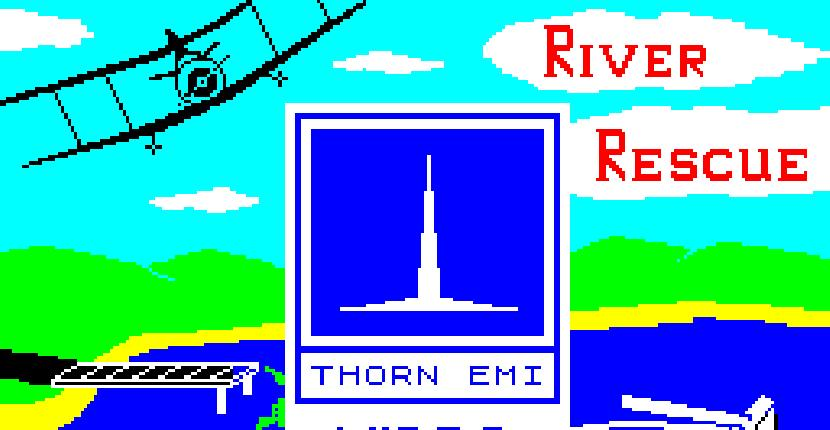 River Rescue | Juego : Spectrum 48K | Creative Sparks & Compulogical