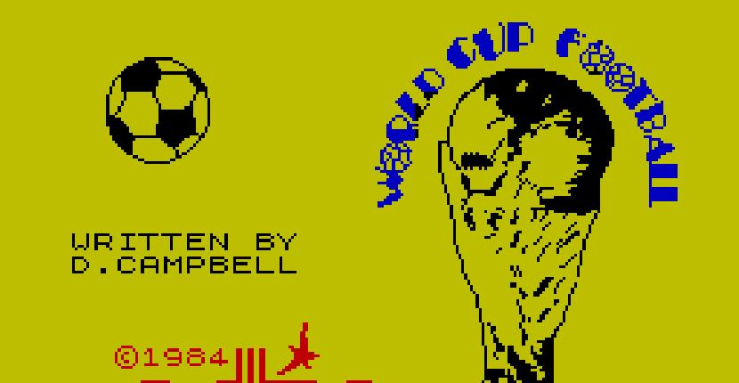 World Cup Football | Juego : Spectrum 48K | Donald Campbell · 1985