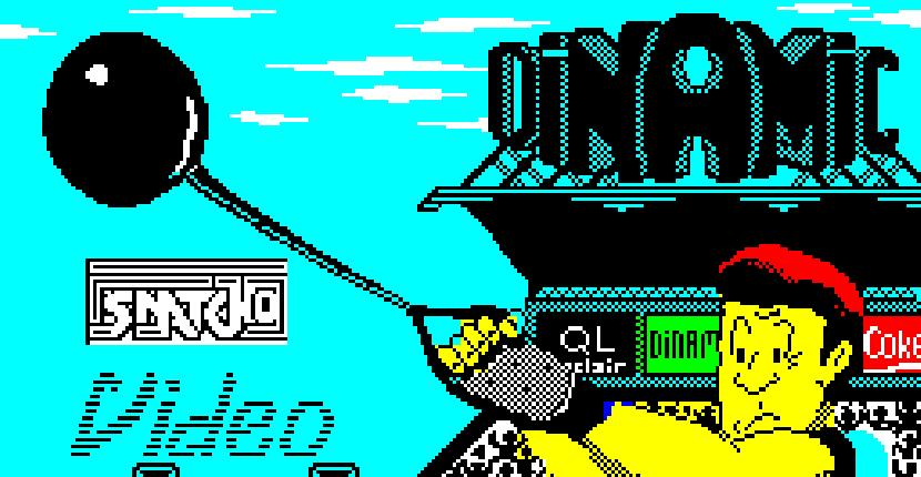 Video Olimpic | Juego : Spectrum 48K |	Snatcho | Dinamic · 1985