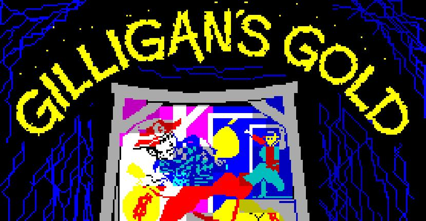 Gilligans Gold | Juego : Spectrum | Ronald Rhodes | Ocean Software