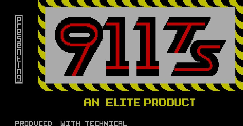 911 TS | Juego : Spectrum 48K | Elite Systems & ABC Soft · 1985