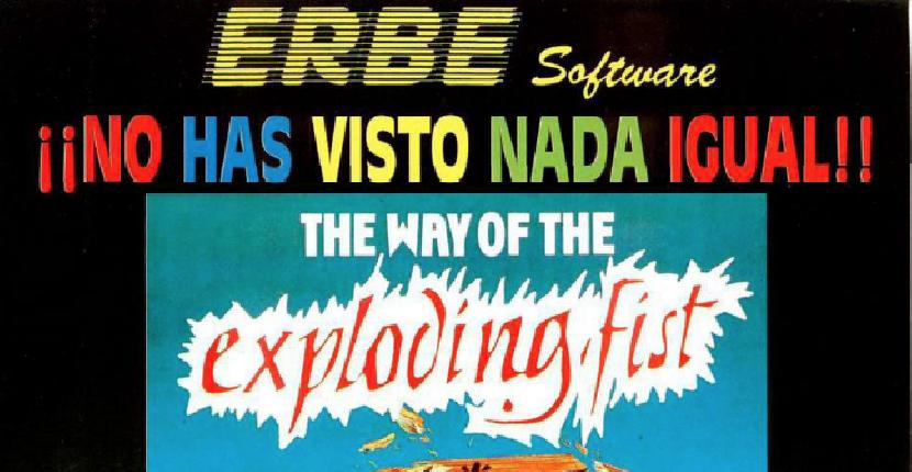 The Way of the Exploding Fist | Publicidad | ERBE Software