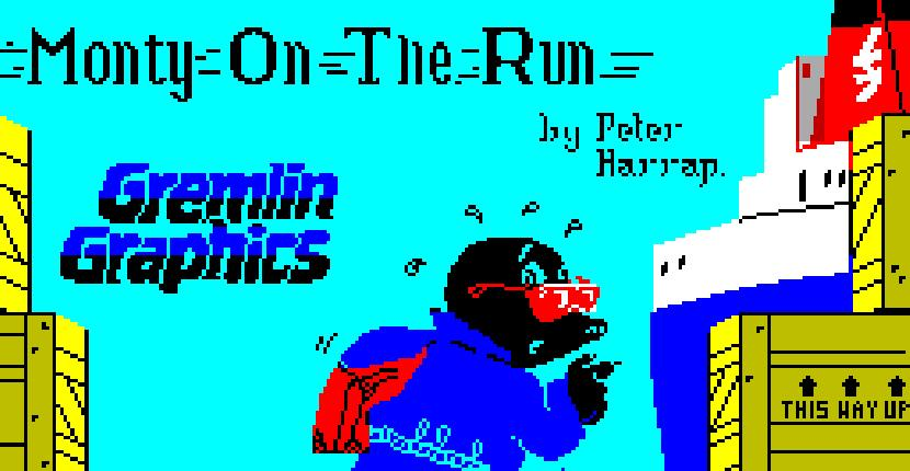 Monty on the Run - ZX Spectrum de Gremlin Graphics (1985)