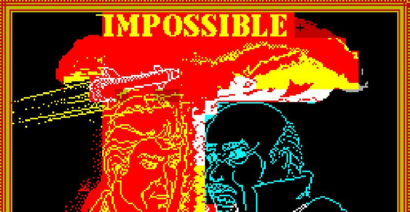 Impossible Mission | Juego : Spectrum 48K | Gary Knight | Epix · 1986