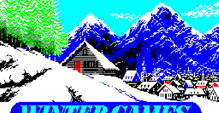 Winter Games - ZX Spectrum 48K de Epyx Inc (1986)