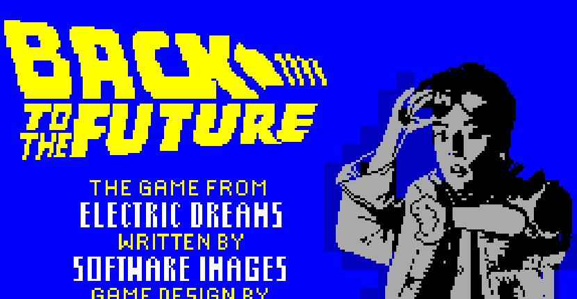 Back to the Future - ZX Spectrum de Electronic Dreams (1985)