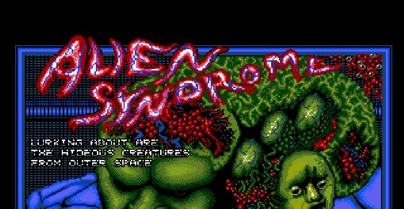 Alien Syndrome | Juego: Amiga 500 | ACE | Glyn Kendall · 1988