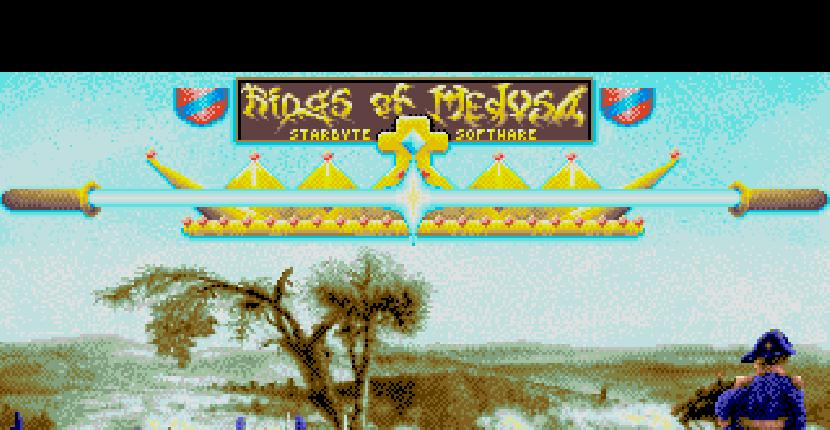 Rings of Medusa | Juego: Amiga 500 | Starbyte Software · 1989