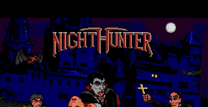 Night Hunter | Juego: Amiga 500 | Ubi Soft | Olivier Marty · 1990