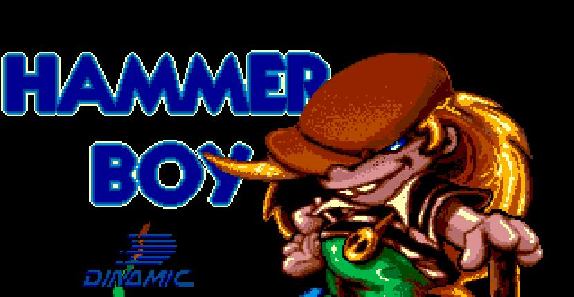 Hammer Boy | Juego: Commodore AMIGA | Dinamic Software · 1990