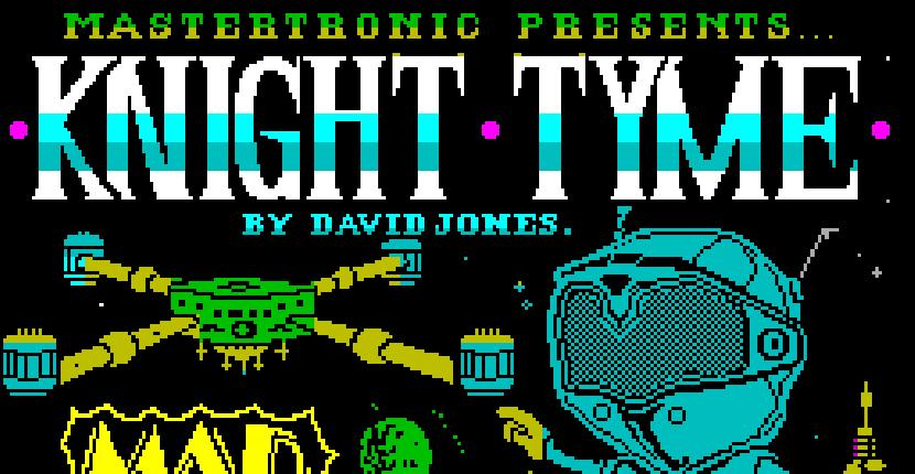 Knight Time | Juego: ZX Spectrum | Mastertronic | David Whittaker · 1986