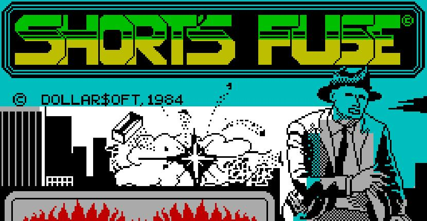 Bombscare para ZX Spectrum de Firebird Software (1986)
