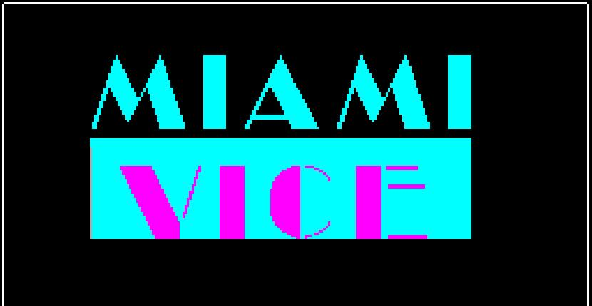 Miami Vice para ZX Spectrum por Ocean Software (1986)