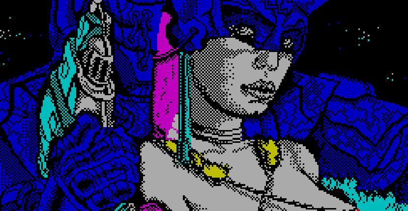 Game Over de ZX Spectrum por Dinamic (1986)