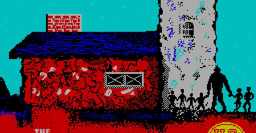 The Goonies de ZX Spectrum por Paragon Programming (1986)