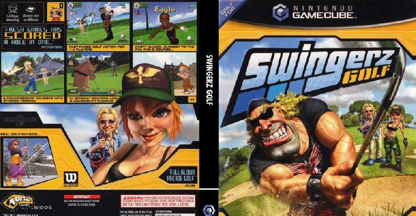 Ace Golf (Swingerz Golf) de Nintendo GameCube (2002)