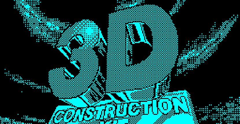 3D Construction Kit - ZX Spectrum por Incentive Software (1991)