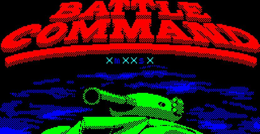 Battle Command - ZX Spectrum de Ocean Software (1991)