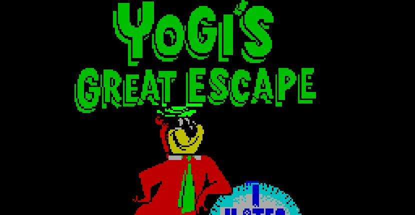 Yogi's Great Escape - ZX Spectrum de Hi-Tec Software (1990)