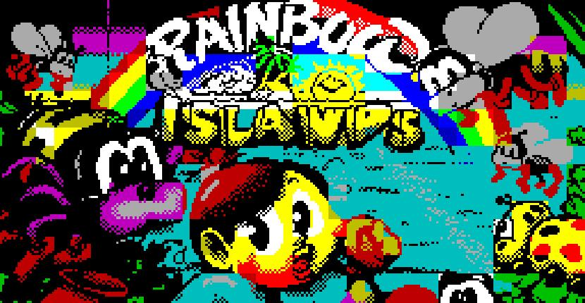 Rainbow Island - ZX Spectrum de Ocean Software (1990)
