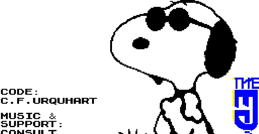 Snoopy - ZX Spectrum de The Edge (1990)
