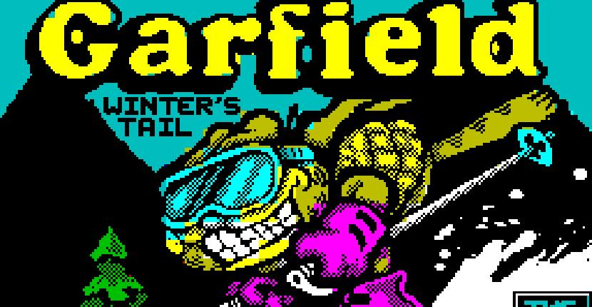Garfield: Winter's Tail - ZX Spectrum de The Edge (1990)