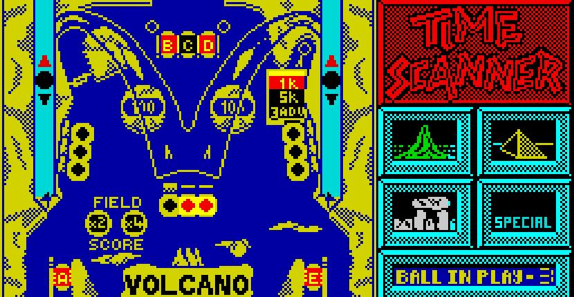 Time Scanner - ZX Spectrum de Activision (1989)