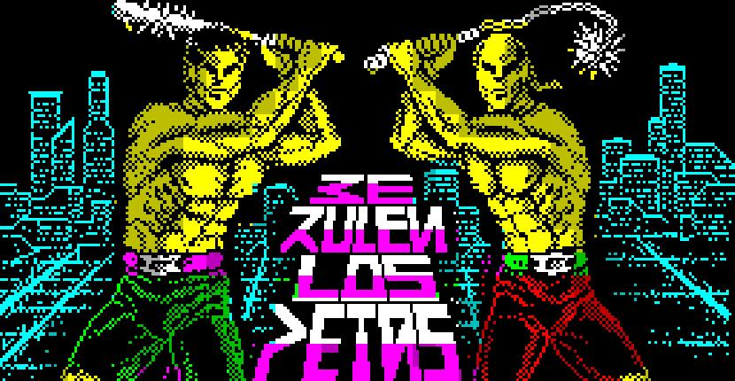 Ke Rulen los Petas - ZX Spectrum de Iber Software (1989)