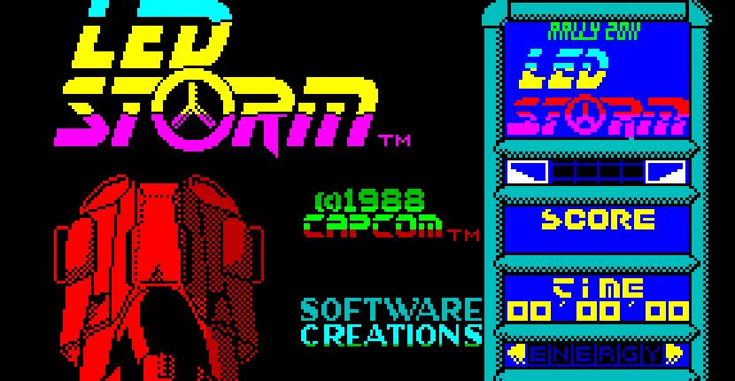 LED Storm - ZX Spectrum de GO! (1988)