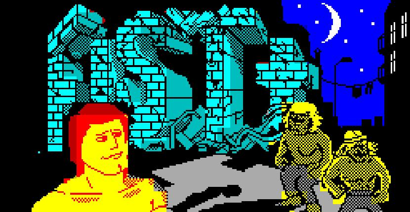 Exploding Fist + ZX Spectrum de Firebird Software (1988)