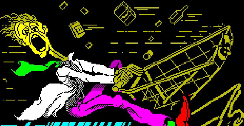 Super Trolley - ZX Spectrum de Mastertronic (1988)