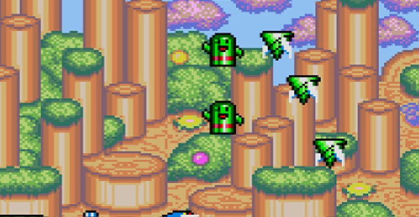 Fantasy Zone - SEGA Game Gear de Sanritsu (1991)