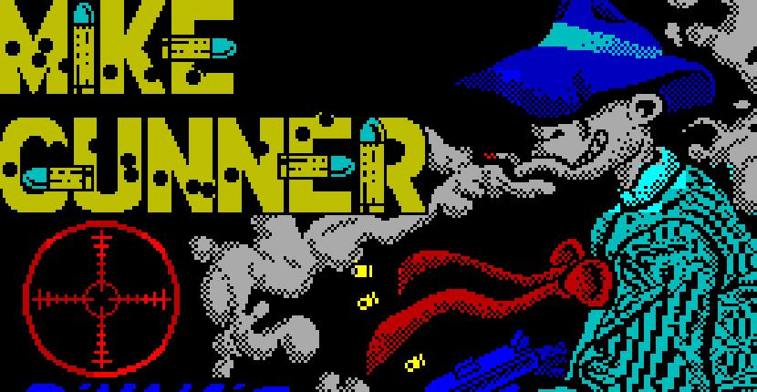 Mike Gunner [Gun Stick] - ZX Spectrum  de Dinamic (1988)