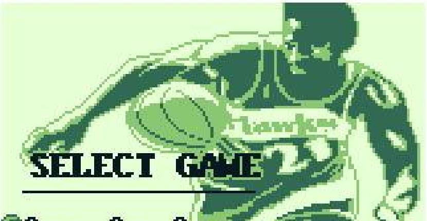 NBA All-Star Challenge - Game Boy de Beam Software (1991)