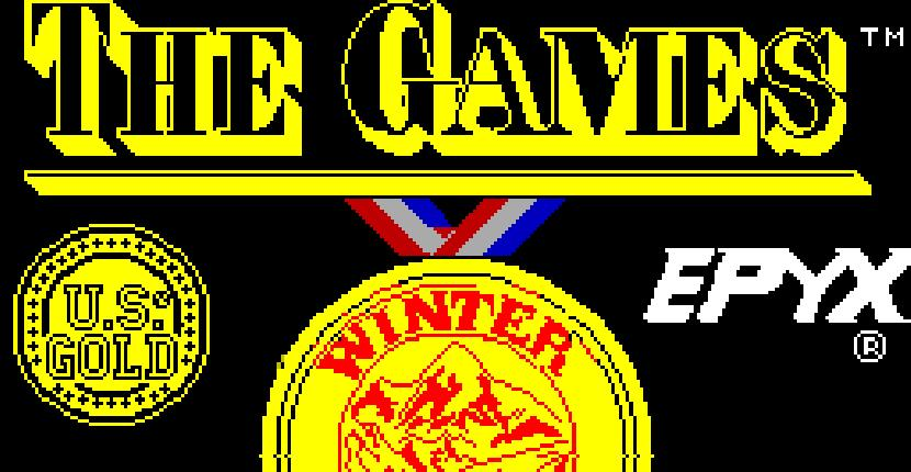 The Games - Winter Edition - ZX Spectrum de Epyx (1988)