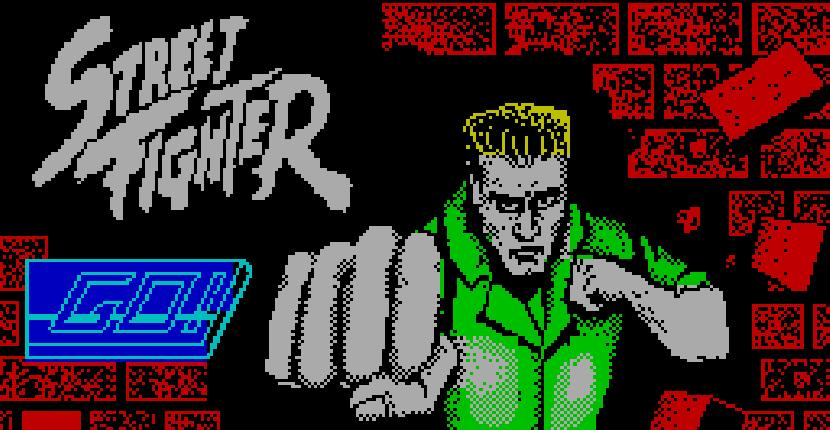 Street Fighter - ZX Spectrum de GO! (1988)