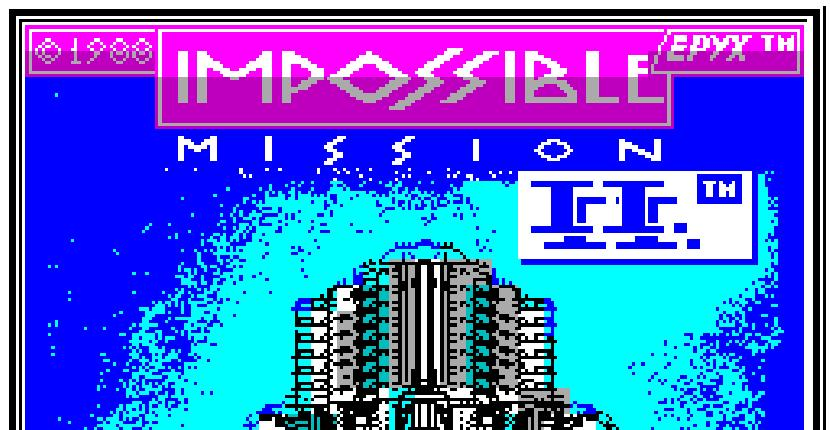 Impossible Mission II - ZX Spectrum de US Gold (1988)
