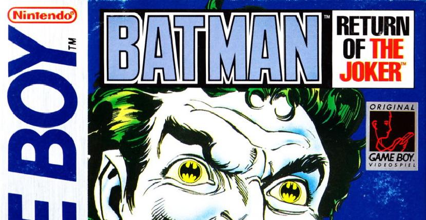 Batman: Return of the Joker - Nintendo Game Boy de Sunsoft (1992)
