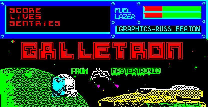 Galletron - ZX Spectrum de Bulldog Software (1987)