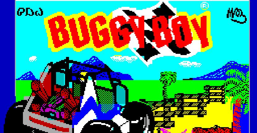 Buggy Boy - ZX Spectrum de Elite (1988)