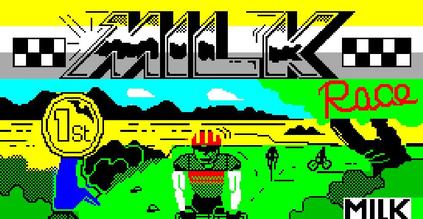 Milk Race - ZX Spectrum de Mastertronic (1987)