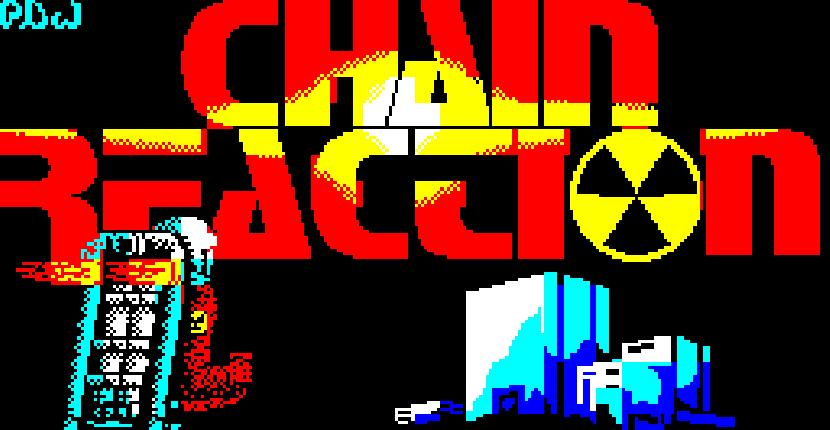 Chain Reaction - ZX Spectrum de Durell Software (1987)