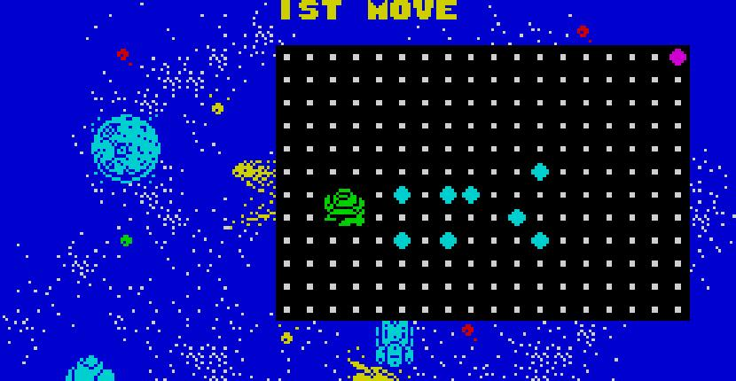 Spaced Out - ZX Spectrum de Firebird Software (1987)