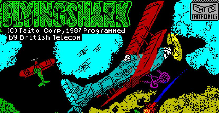 Flying Shark - ZX Spectrum de Firebird Software (1987)