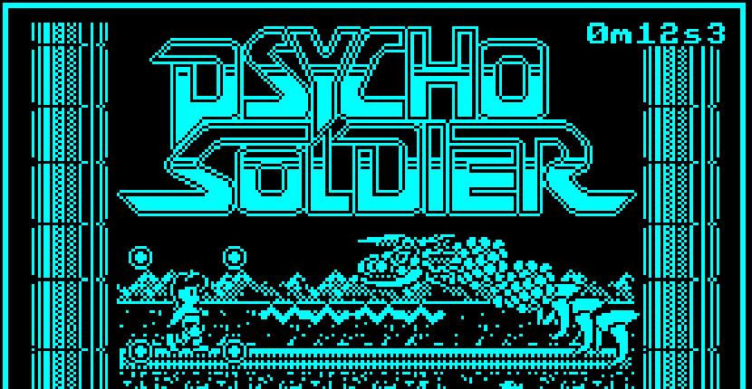 Psycho Soldier - ZX Spectrum de Imagine Software (1987)