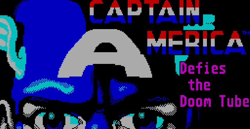 Captain America in the Doom Tube of Dr Megalomann - ZX Spectrum de Go! (1988)