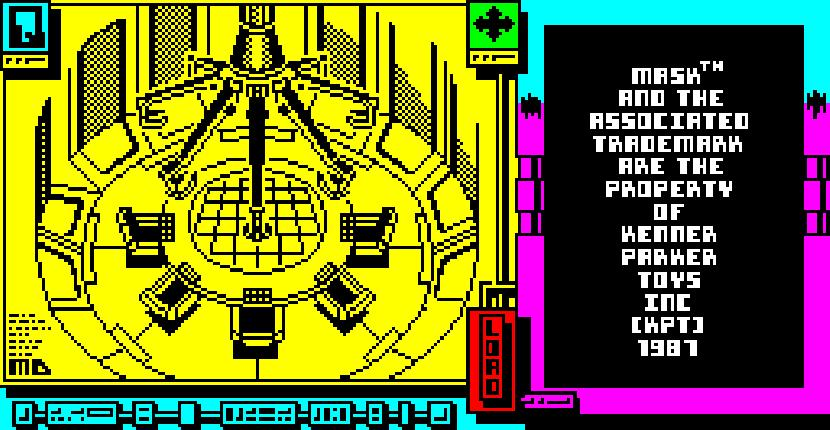 MASK 2 - ZX Spectrum de Gremlin Graphics Software (1987)